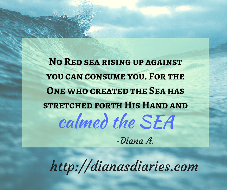 "God can calm the raging sea within you . For He is God says ""Be still"" No storms that rise up against you will prosper .You will see the Hand of God calming the Sea"