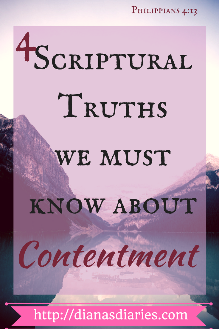 4 SCRIPTURAL TRUTHS WE MUST KNOW ABOUT CONTENTMENT
