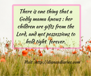 Children are gifts and rewards from the Lord.Bible