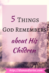 God hasn't forgotten your toils and turmoil , your empty womb and your gloom, nor your tears and trials. A mother can never forget her child,but even if she does God will never forget us. He remembers His promises