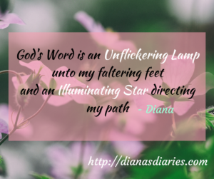 God's word is unfaltering and illuminating Psalm119:105