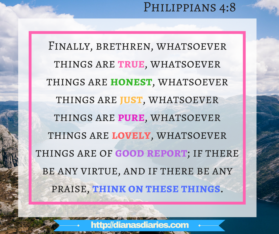 philippians 4_8 amazing Bible verse to replace negative thoughts