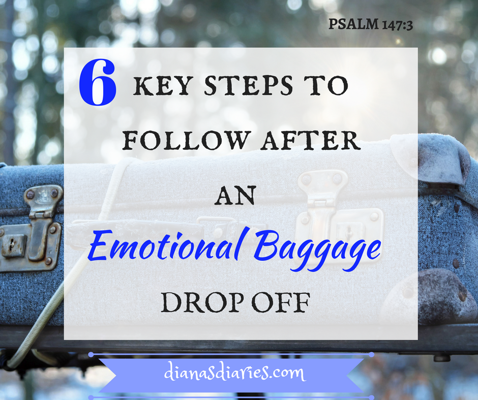 Where to drop off our emotional baggage and 6 steps to follow
